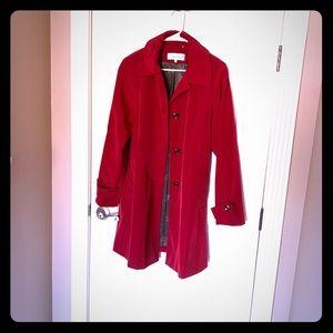 Calvin Klein Dark Red Blazer Size M